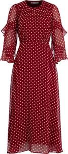 Sukienka Marella z długim rękawem midi
