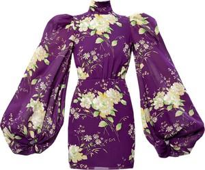 Fioletowa sukienka The Attico
