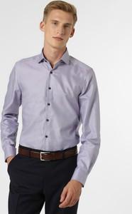 Fioletowa koszula Finshley & Harding z długim rękawem
