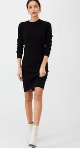Sukienka V by Very z okrągłym dekoltem w stylu casual z długim rękawem
