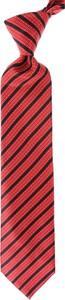 Czerwony krawat Stefano Ricci