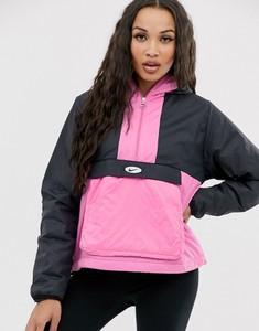 Czarna kurtka Nike z plaru