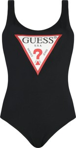 Czarny strój kąpielowy Guess w stylu casual