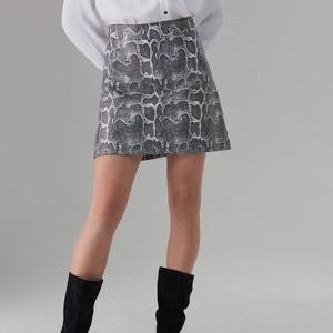 Spódnica Mohito mini ze skóry