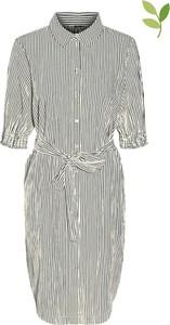 Sukienka Vero Moda z długim rękawem z dekoltem w kształcie litery v w stylu casual