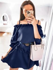 Niebieska sukienka magmac.pl mini