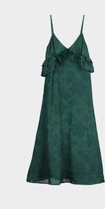 Zielona sukienka Trendyol