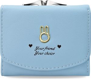 Niebieski portfel world-style.pl