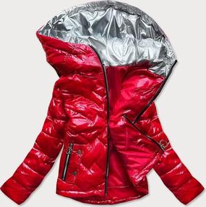 Czerwona kurtka Goodlookin.pl w stylu casual krótka