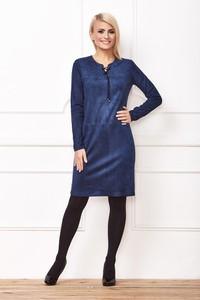 Niebieska sukienka La'Aurora mini