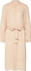 Sukienka Moves koszulowa z długim rękawem w stylu casual