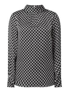 Bluzka Christian Berg Women z dekoltem w kształcie litery v z długim rękawem