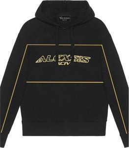 Czarny sweter Alexis z okrągłym dekoltem z wełny