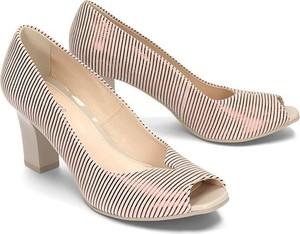 Czółenka Marco Shoes w stylu klasycznym na średnim obcasie na słupku
