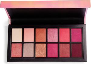 Makeup Revolution, I Heart Revolution, Palette 12, zestaw cieni do powiek, Angel Heart, 12 kolorów