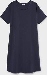 YESSICA C&A Sukienka ciążowa-bawełna bio, Niebieski, Rozmiar: XS