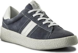 Sneakersy calvin klein jeans - gaja r8782 denim blue/white