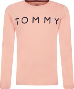 Różowa bluzka dziecięca Tommy Hilfiger