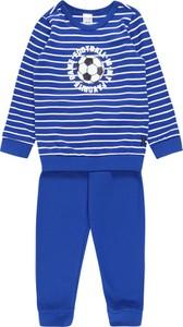 Niebieska piżama Schiesser dla chłopców