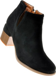 Czarne botki Pantofelek24