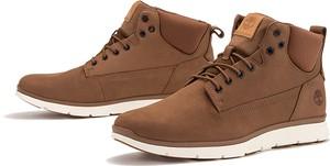 Buty zimowe Timberland z zamszu sznurowane