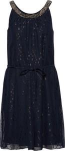 Czarna sukienka Esprit Collection z tkaniny na co dzień