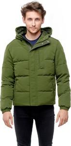 Zielona kurtka Wrangler krótka