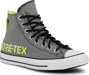 Trampki CONVERSE - Ctas Gtx Hi GORE-TEX 169589C Limestone Grey/Lemon Venom
