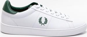 Buty sportowe Fred Perry ze skóry w sportowym stylu
