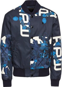 Niebieska kurtka G-Star Raw krótka