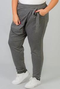 Spodnie KARKO w sportowym stylu z dresówki