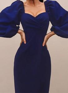 Sukienka Cikelly z dekoltem w kształcie litery v mini dopasowana