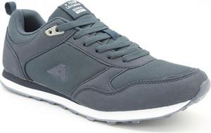 Granatowe buty sportowe American Club sznurowane