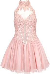 Różowa sukienka La Poudre™ z tiulu bez rękawów