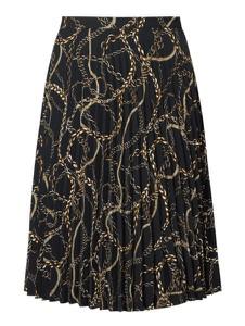 Czarna spódnica Esprit midi w stylu vintage