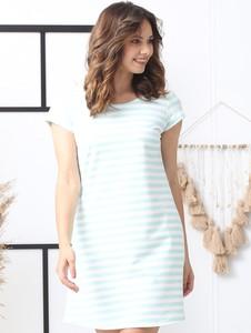 Sukienka Grandio trapezowa z bawełny