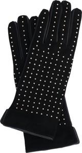 Rękawiczki Twinset ze skóry