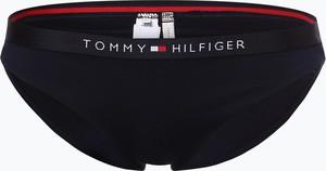 Granatowy strój kąpielowy Tommy Hilfiger w sportowym stylu