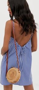Sukienka Asos Design mini na ramiączkach bombka