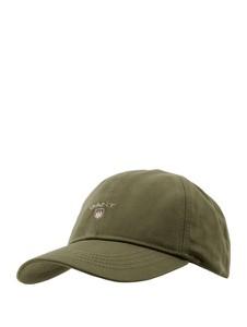 Zielona czapka Gant