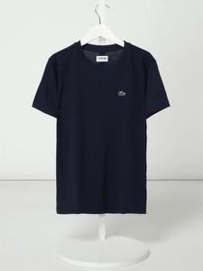 Granatowa koszulka dziecięca Lacoste z krótkim rękawem