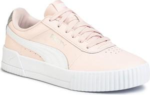 Różowe buty sportowe Puma