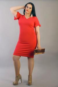 9a8e2e527fd4 sukienki wizytowe rozmiar 48 50. Sukienka Exclusive Line midi