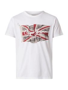 T-shirt Pepe Jeans z krótkim rękawem z bawełny w młodzieżowym stylu