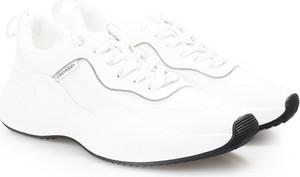 Buty sportowe ubierzsie.com ze skóry ekologicznej z płaską podeszwą