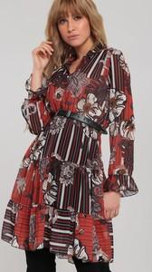 Sukienka Renee koszulowa w stylu casual mini
