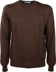 Brązowy sweter Gran Sasso w stylu casual