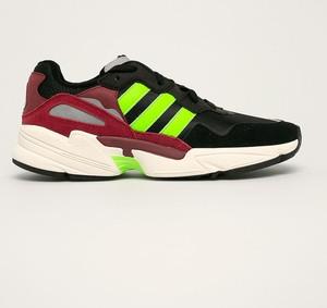 Buty sportowe Adidas Originals z płaską podeszwą ze skóry sznurowane
