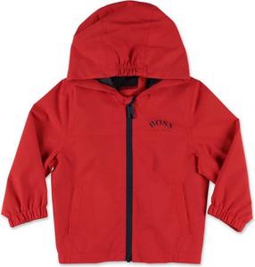 Czerwona kurtka dziecięca Hugo Boss dla chłopców