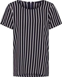 Bluzka Vero Moda z okrągłym dekoltem z dżerseju z krótkim rękawem